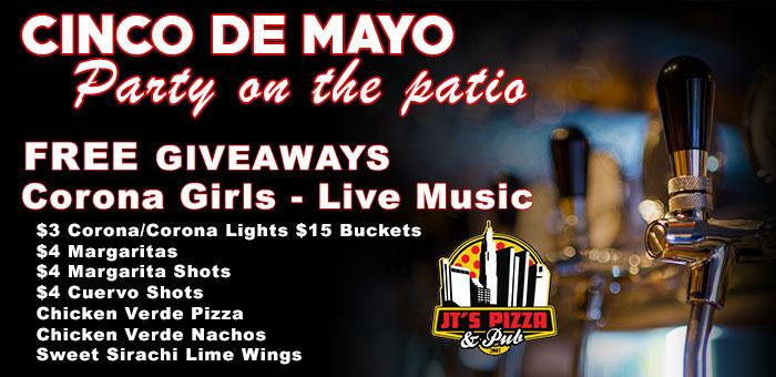 Cinco De Mayo Party @ JT's Pizza & Pub | Columbus | Ohio | United States