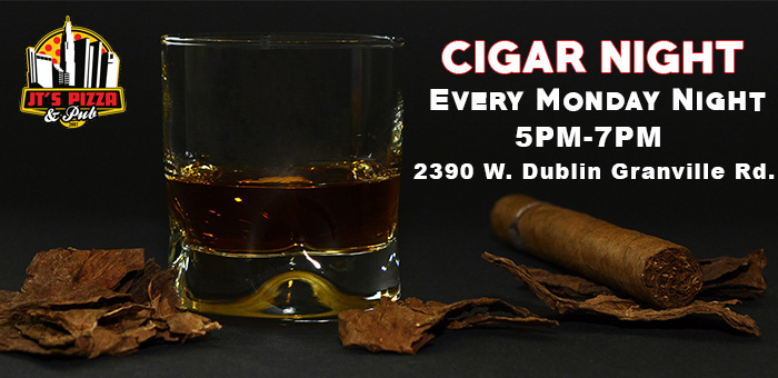 Cigar Night in Columbus | JT's Pizza and Pub