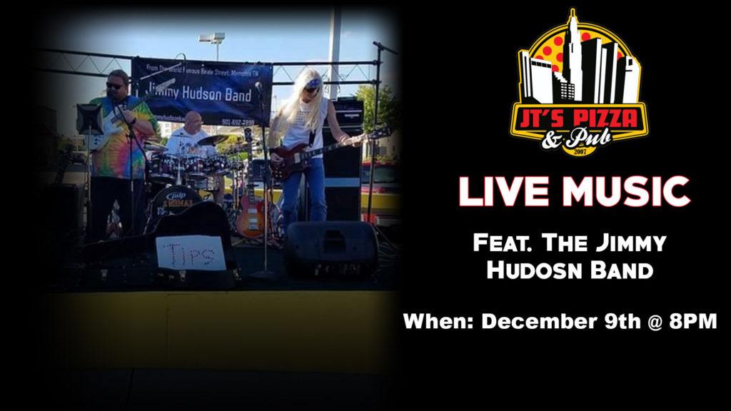 "Jimmy Hudson Band LIVE @ JT""s Pizza & Pub | Columbus | Ohio | United States"