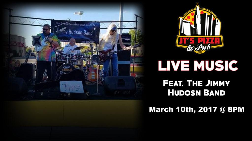 Jimmy Hudson Band @ JT's Pizza & Pub | Columbus | Ohio | United States