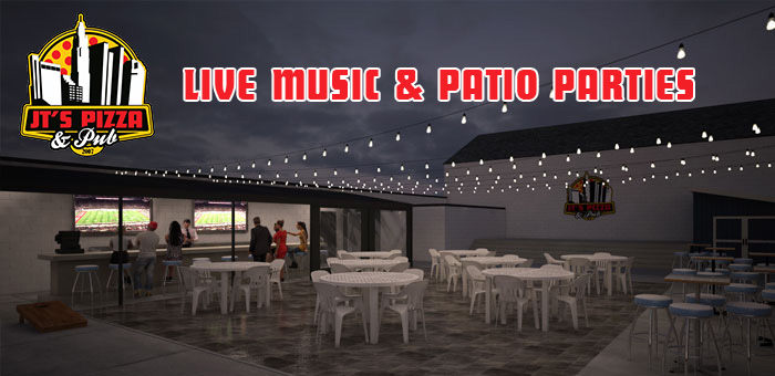 Live Music and Patio Parties | JTs Pizza and Pub Columbus
