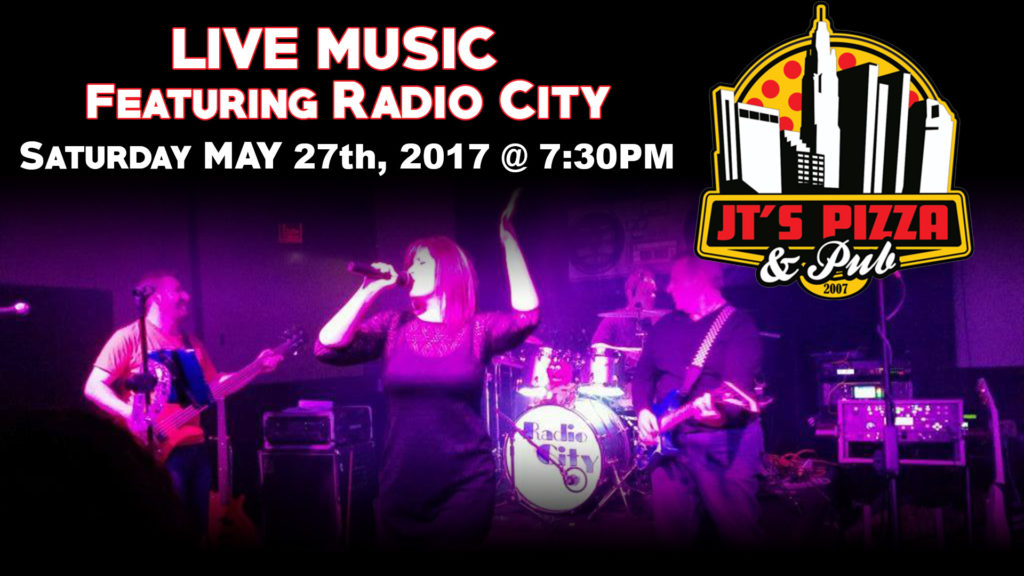 Patio Bar with LIVE MUSIC at JTS PIzza