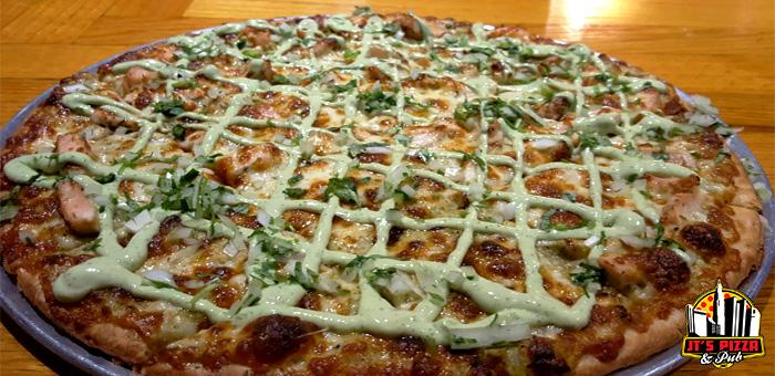 Chicken Verde Pizza