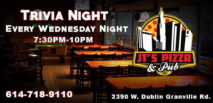 Trivia Night @ JT's Pizza & Pub | Columbus | Ohio | United States